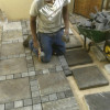 Building Brick work, plastering and paving