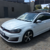Volkswagen Golf 7 2.0 TSI GTI Performance DSG, White with 72000km, for sale!