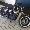 This Harley Davidson Sportster Cafe Racer Custom Made XL 1200X Forty Eight Can Be Yours For Only +-R
