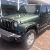 2011 Jeep Wrangler Unlimited 2.8L CRD Sahara AT, Green with 245000km available now!