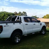 Ford ranger double cab.250k.43000km