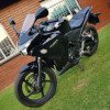 Honda cbr 250r 2013 in mint condition plus minus 25000 kms