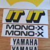1981 Yamaha IT 250 decals stickers graphics kit