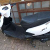 125cc jet edition,only with 1680 on clock almost new with spare key